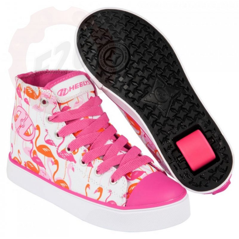 heelys veloz wei pink flamingos 770682h 79 00 fanti. Black Bedroom Furniture Sets. Home Design Ideas