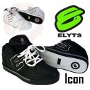Elyts Icon Schuhe 2013 Elyts Shoe Mid Black Nubuk White...