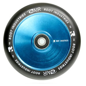 Root Air 110mm Stunt Scooter Rolle Sky Blau / Pu Schwarz