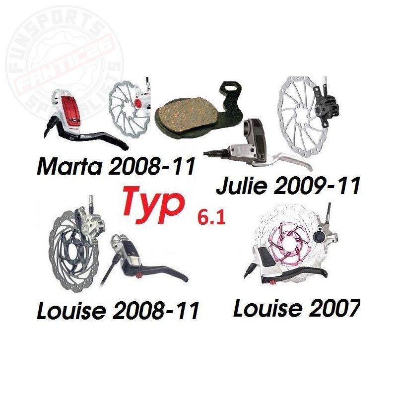 Tr!ckstuff Bremsbeläge Power 150PO Magura Louise ab 07//Marta//Julie HP 09