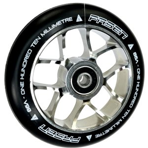 Fasen 10-Spoked 110mm Stunt-Scooter Wheel Jet Chrom