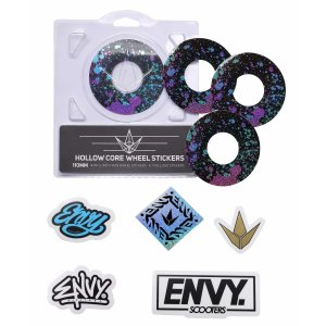 Blunt Wheel Sticker 110mm Splatter