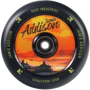 Root Industries Air Wheel 110mm sign. Jamie Addison
