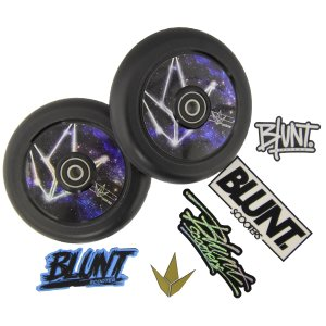 2 x Blazer Pro Stunt-Scooter Hollow Core Rollen 110mm PU...