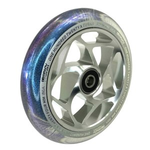 Blunt Prodigy S8 Stunt-Scooter Wheel 120 mm Silber/PU...