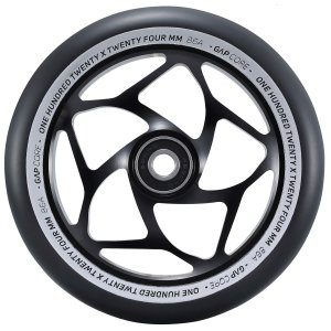 Blunt Gap Core Stunt-Scooter Wheel 120 mm schwarz/PU schwarz