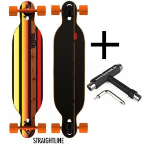 Rellik Longboard Straightline drop-through/twin-tip...