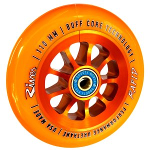 River Rapid 110mm Stunt-Scooter Rolle River Orange