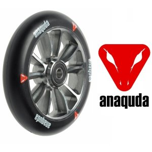 Anaquda Engine Stuntscooter Rolle 120mm silber